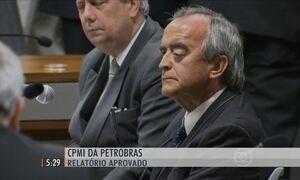 CPMI da Petrobras aprovou o relatório do deputado Marco Maia, do PT