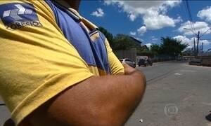 Vários bairros não recebem encomendas por falta de segurança para os carteiros