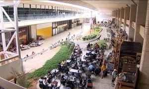Reforma do Aeroporto Internacional de Confins está parada