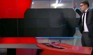 Jovem armado invade emissora de TV na Holanda