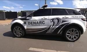 Polícia de Goiás utiliza carros apreendidos de traficantes