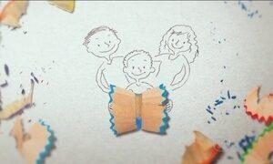 Campanha da Rede Globo incentiva a família a participar da vida escolar