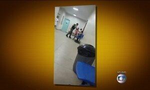 Guarda municipal dá tapa em mulher dentro de posto de saúde no Pará