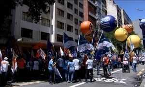 Centrais sindicais protestam contra novas regras do seguro-desemprego