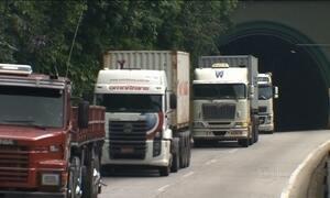Aumento de carga dos caminhões  pode afetar segurança dos motoristas