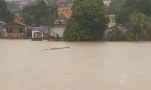 Nível do Rio Acre sobe um centímetro por hora