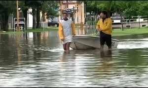Centro-Oeste da Argentina sofre com inundações recordes