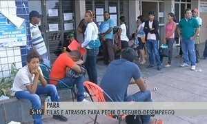 Agências fechadas prejudicam quem precisa do seguro-desemprego no PA