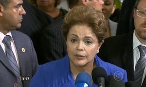 Governo avalia os protestos durante o pronunciamento de Dilma