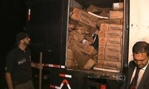 Polícia recupera carga de dinamite roubada na Grande São Paulo