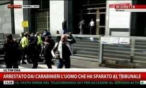 Homem atira dentro de tribunal em Milão e mata quatro pessoas