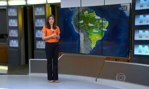 Previsão é de mais chuva para Salvador (BA)