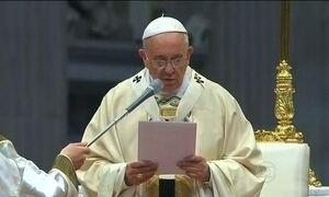 Papa usa termo 'genocídio' para descrever massacre há cem anos