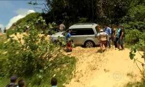 Flagrante mostra motoristas dirigindo sem autorização por dunas no Ceará
