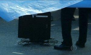 Drone radioativo pousa no prédio do primeiro-ministro japonês