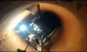 Novo túnel de quase 20 metros é descoberto no presídio de Alcaçuz