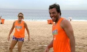 Rodrigo Lombardi e Christine Fernandes vivem rotina de atletas