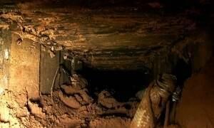 Fantástico entra com exclusividade em túnel feito para roubo milionário