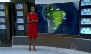 Veja a previsão do tempo para todo o Brasil neste sábado (16)