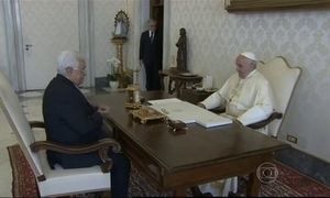 Papa Francisco recebe presidente da Autoridade Palestina no Vaticano