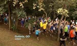 Caminhada do Medida Certa reúne seis mil pessoas em Goiânia, GO