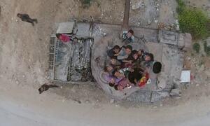 Brasileiro percorre cidade destruída que se libertou do Estado Islâmico