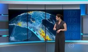 Confira como vai ficar o tempo no domingo (24) em todo o país