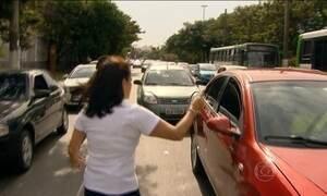 Mães vão às ruas em São Paulo fazer campanha contra violência no trânsito