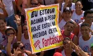 Caminhada Medida Certa reúne 30 mil pessoas em Manaus