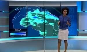 Chuva deve atingir parte das regiões Norte e Sul do Brasil nesta quinta-feira (4)
