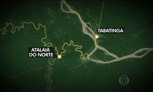 FAB encontra helicóptero que tinha desaparecido no Amazonas