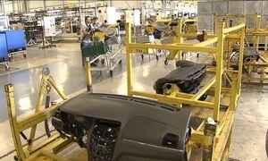 Crise econômica para linha de produção de montadora em MG