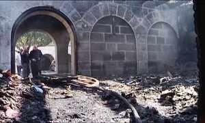 Igreja sagrada para os cristãos é incendiada em Israel