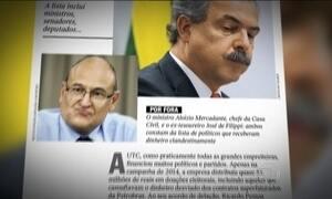 Delator relata doações para políticos com dinheiro desviado da Petrobras