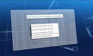 Lista mostra que EUA grampearam 29 telefones do governo brasileiro