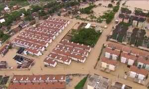 Chuvas deixam quatro mortos no Nordeste