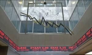 Bolsa de Valores reabre em forte queda após cinco semanas fechada em Atenas