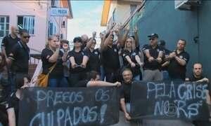 Paralisação de servidores reduz o número de policias nas ruas do RS