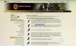 PF envia e-mail com alerta para renovação do passaporte
