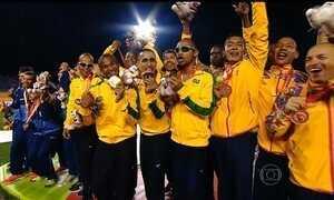 Brasil termina o Parapan com sua melhor participação no evento