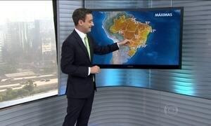 Semana começa com calor em praticamente todo o Brasil