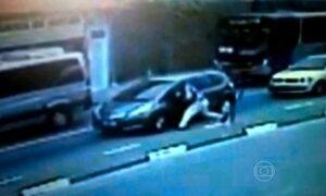 Homem que agrediu mulher para roubar carro é preso  em São Paulo