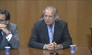 José Dirceu deixa perguntas sem resposta na CPI da Petrobras e na PF