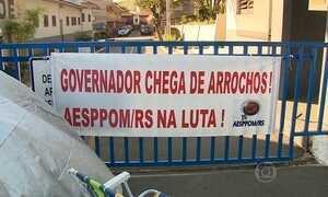 Governo do RS deixa de pagar dívida e contas do estado são bloqueadas