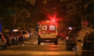Pedestre e dois policiais são baleados em tiroteio