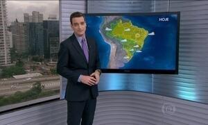 Chuva se concentra no Sudeste e alivia Sul nesta quarta (9)