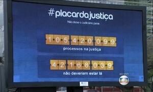 'Processômetro' vai medir processos que estão na fila da Justiça