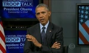 Barack Obama diz que os EUA têm a obrigação de receber refugiados sírios