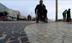 Obras de acesso para deficientes nas Olimpíadas começam em outubro