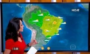 Confira como fica o tempo nesta quarta-feira (16) em todo o Brasil